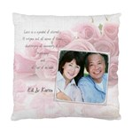 Love Pink Rose Cushion Case - Standard Cushion Case (One Side)