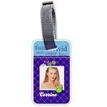 Dare To Have Fun Luggage Tag - Luggage Tag (one side)