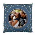 Pretty Blue Cushion Case (1 Sided) - Standard Cushion Case (One Side)