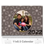 2019 Happy Family 11x8.5 - you - Wall Calendar 11  x 8.5  (12-Months)