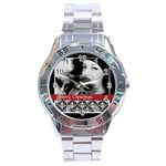 christmas - Stainless Steel Analogue Watch