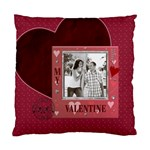 My Valentine Cushion Case (1 Sided) - Standard Cushion Case (One Side)