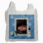 Winter Fun Recycle Bag (1 Side) - Recycle Bag (One Side)