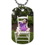 Jasmine Dog Tag - Dog Tag (Two Sides)