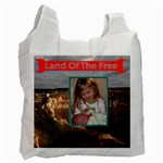 Land of the free recycle bad two sides - Recycle Bag (Two Side)