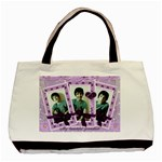 Lilac triple frame bag - Basic Tote Bag (Two Sides)