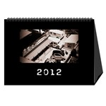 train calendar - Desktop Calendar 8.5  x 6