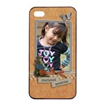 Apple iPhone 4/4s Seamless Case: Cherished Memories - iPhone 4/4s Seamless Case (Black)