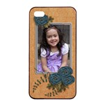 Apple iPhone 4/4s Seamless Case: Cherished Memories3 - Apple iPhone 4/4s Seamless Case (Black)