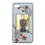 Apple iPhone 4/4s Seamless Case: Cherished Memories5 - iPhone 4/4s Seamless Case (Black)