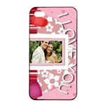 love - iPhone 4/4s Seamless Case (Black)