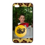 Leopard iPhone 4/4 case - iPhone 4/4s Seamless Case (Black)