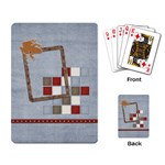 Junior Playing Cards - Playing Cards Single Design (Rectangle)