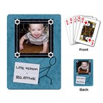 Little Person - Big Attitude Playing Cards - Playing Cards Single Design (Rectangle)