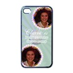 Deliciously scrummy cupcake iphone 4 case - iPhone 4 Case (Black)