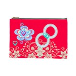Flower Cosmetic Bag 2 - Cosmetic Bag (Large)