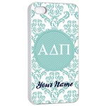 Alpha Delta Pi Sorority iPhone 4/4s Case - iPhone 4/4s Seamless Case (White)