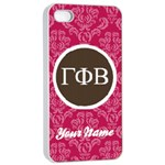 Gamma Phi Beta Sorority iPhone 4/4s Case - iPhone 4/4s Seamless Case (White)