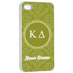 Kappa Delta Sorority iPhone 4/4s Case - Apple iPhone 4/4s Seamless Case (White)