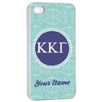 Kappa Kappa Gamma Sorority iPhone 4/4s Case - iPhone 4/4s Seamless Case (White)