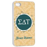 Sigma Delta Tau Sorority iPhone 4/4s Case - iPhone 4/4s Seamless Case (White)