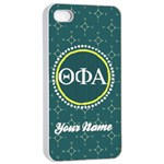 Theta Phi Alpha Sorority iPhone 4/4s Case - iPhone 4/4s Seamless Case (White)