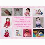 1year - 5  x 7  Photo Cards