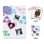 Hearts single design cards - Playing Cards Single Design (Rectangle)