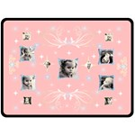 Pink Star XL Blanket - Fleece Blanket (Large)