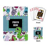 Monster Party Playing Cards 1 - Playing Cards Single Design (Rectangle)
