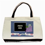 Monster Party Tote 1 - Basic Tote Bag