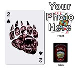 ketchikan bear paw cards - Playing Cards 54 Designs