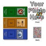 Biblios Stamp Collecting Deck 1 - Playing Cards 54 Designs (Rectangle)