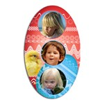 Diet Easter magnet 2 - Magnet (Oval)