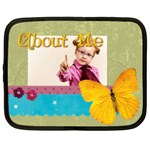 about me - Netbook Case (Large)