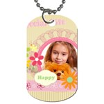 Spring - Dog Tag (Two Sides)