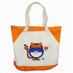 Tiger bag - Accent Tote Bag