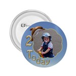 2 birthday 2.25 button - 2.25  Button