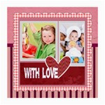 with love - Medium Glasses Cloth (2 Sides)