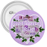Purple and pink Mothers Day pin - 3  Button