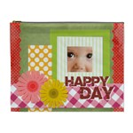 happy day - Cosmetic Bag (XL)