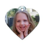 Emilee and Madison - Dog Tag Heart (Two Sides)