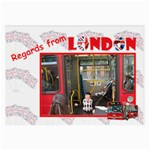 Regards from London - Large Glasses Cloth