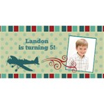 Airplane You Are Invited 3D Card - YOU ARE INVITED 3D Greeting Card (8x4)