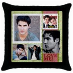 daypillow - Throw Pillow Case (Black)
