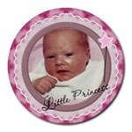 My Little Princess Round Mousepad