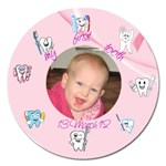 My first tooth - Magnet 5  (Round)