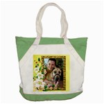 All Mine Accent Tote Bag
