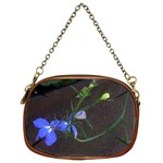 flowers on rust - Chain Purse (Two Sides)