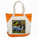 Holiday tote - Accent Tote Bag